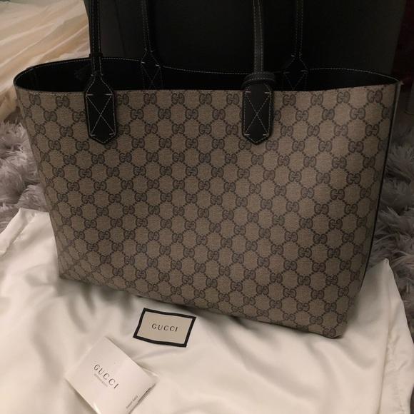 df0a7f02b Gucci Bags | Sold Reversible Gg Medium Tote | Poshmark